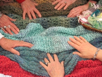 Hands on Prayer Shawls
